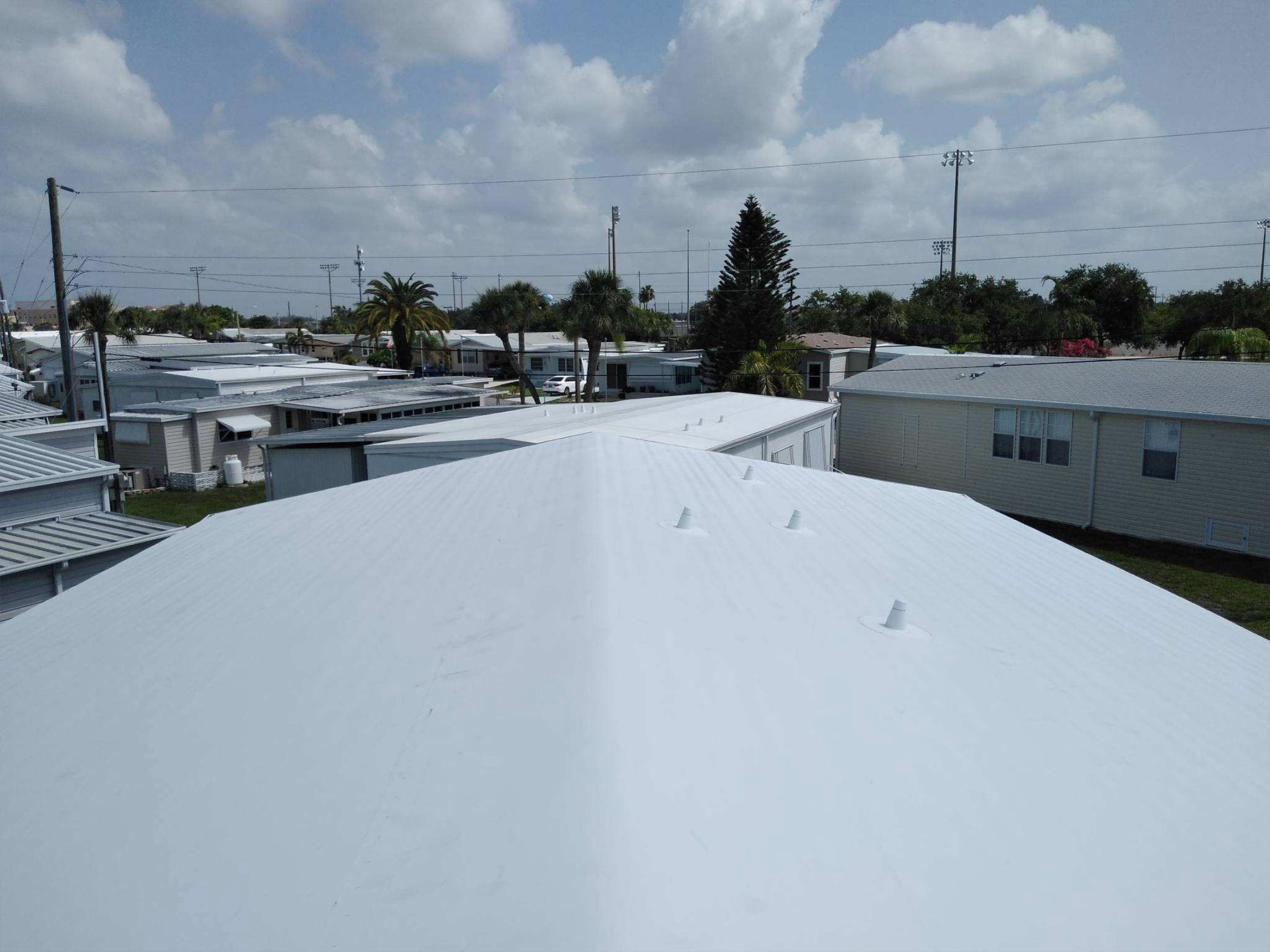 Mobile Home Roof Over In Venice Fl Community Roofing Of