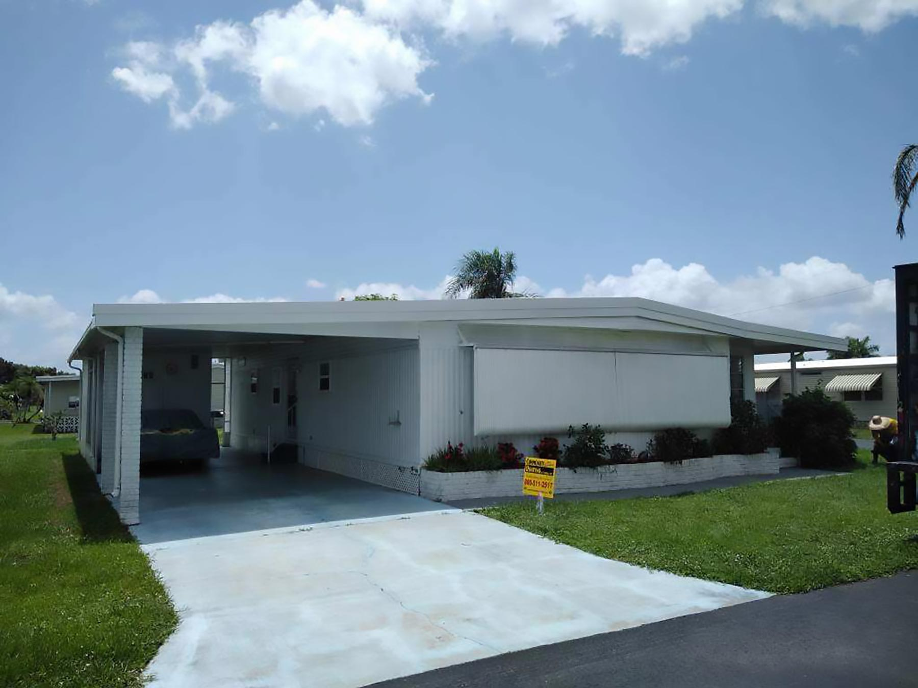 Mobile Home Roof Over North Fort Myers | Community Roofing ... on mobile home construction, mobile home decks, mobile home room additions florida, mobile home roofing costs, mobile home metal roofing materials,